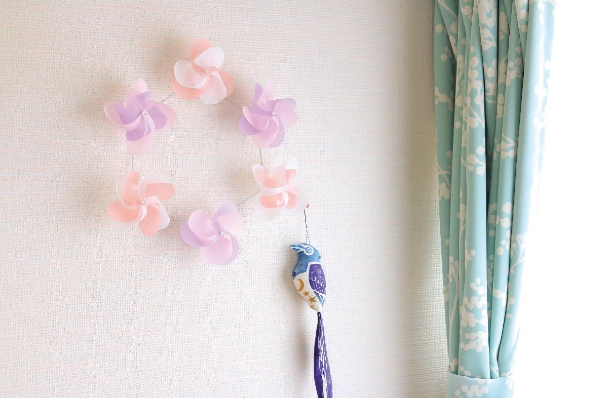 花ぐるま使用例 リンドウ