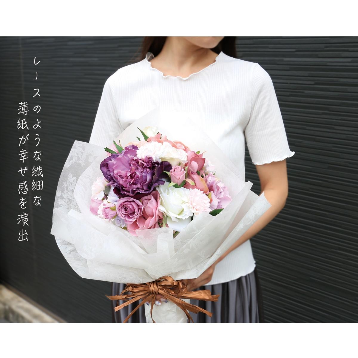 クロエ 純白 花束