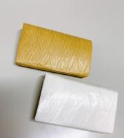糸入り折り紙財布